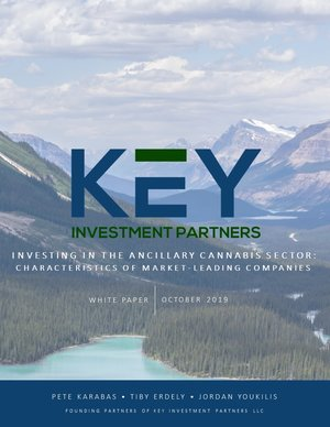 Investing in ancillary cannabis. Download free white paper from KEY Investment Partners