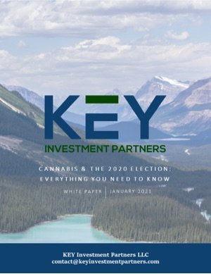 Cannabis & the 2020 Election: Everything You Need to Know. Download free white paper from KEY Investment Partners